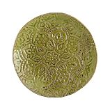 Toulouse Green 9.5&quot; Plate