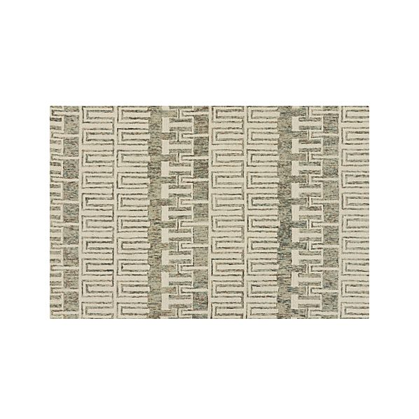 Tower Neutral Wool 6'x9' Rug