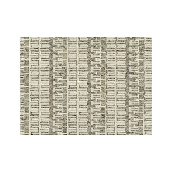 Tower Neutral Wool 10'x14' Rug
