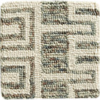 Tower Neutral Wool Rug Swatch.