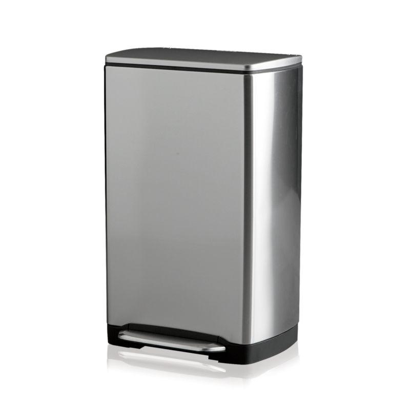 Simplehuman 174 10 Gallon Trash Can Crate And Barrel