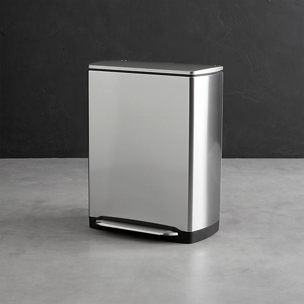 Simplehuman 174 12 Gallon Stainless Steel Rectangular