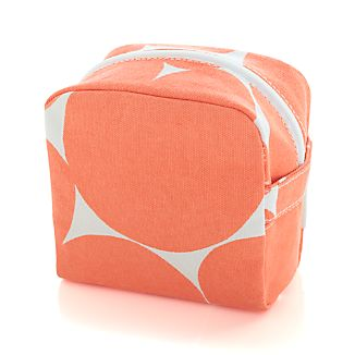 Neon Orange Travel Bag