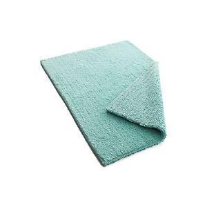 Traverse Reversible Teal Bath Rug