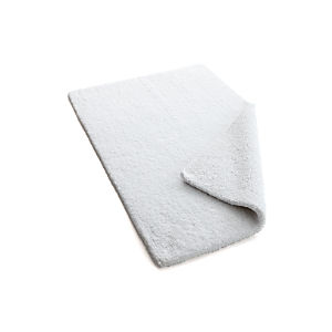 Traverse Reversible White Bath Rug