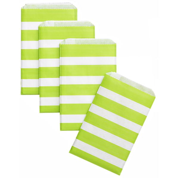 Set of 24 Stripe Treat Bags