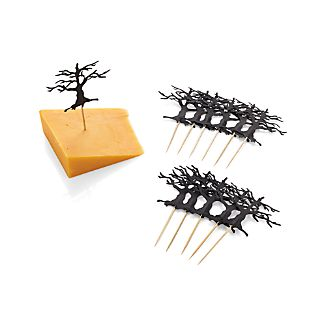 Tree Food Toppers Set of 12