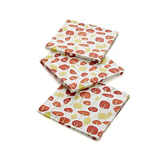 Set of 20 Autumn Trees Dinner Napkins
