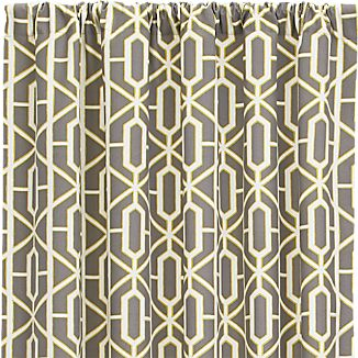 "Trellis 50""x108"" Curtain Panel"