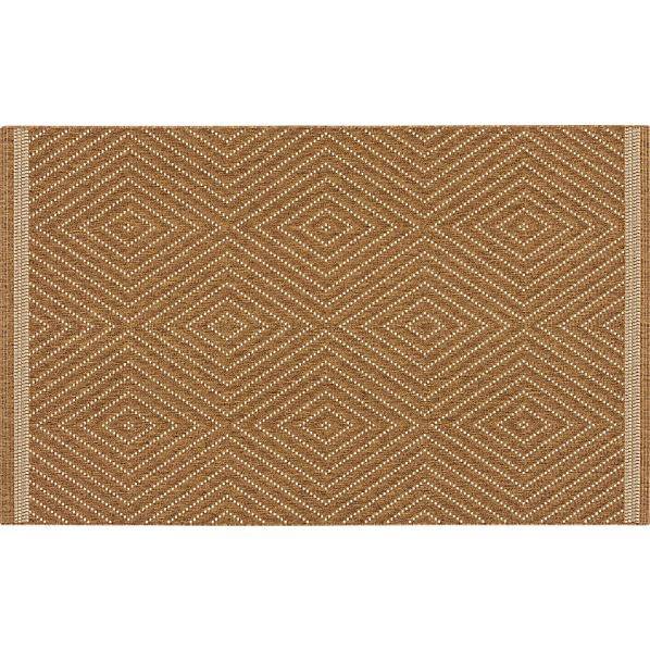 Trellis Natural Indoor-Outdoor Rug