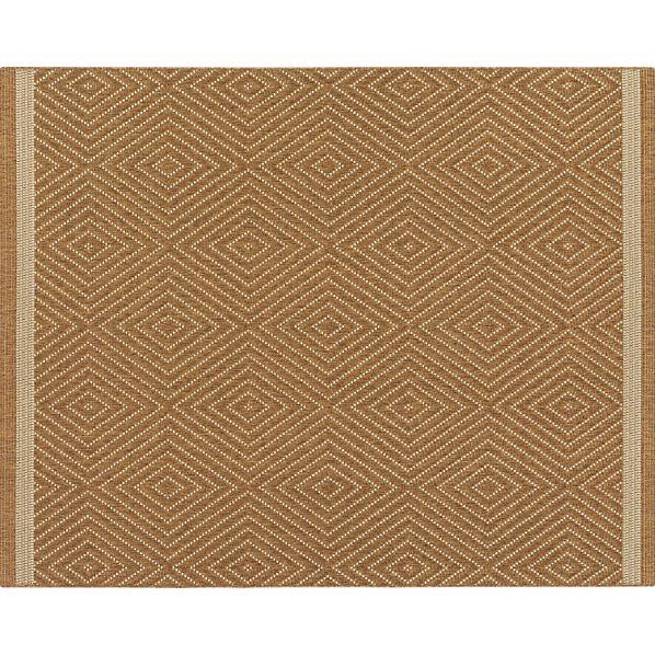 Trellis Natural Indoor-Outdoor 8'x10' Rug