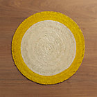 Tropic Palm Yellow Trim Placemat.