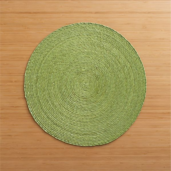 Tropical Palm Celery Placemat
