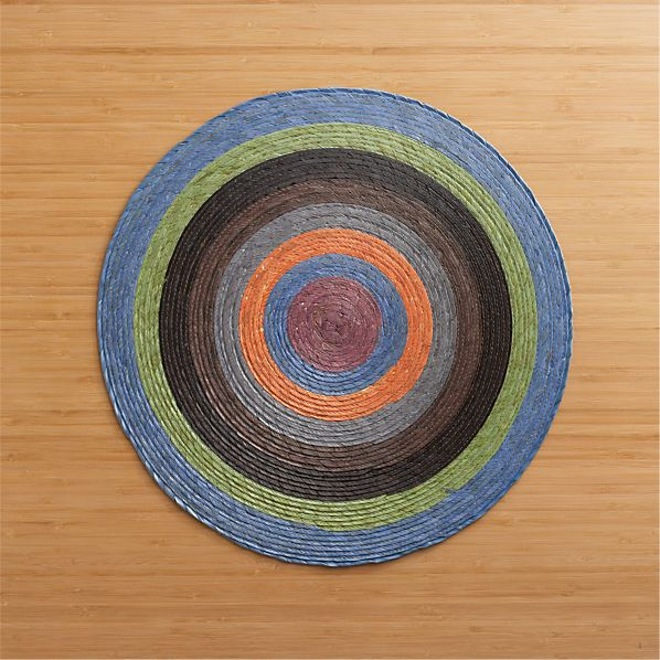 Tropical Palm Spiral Placemat