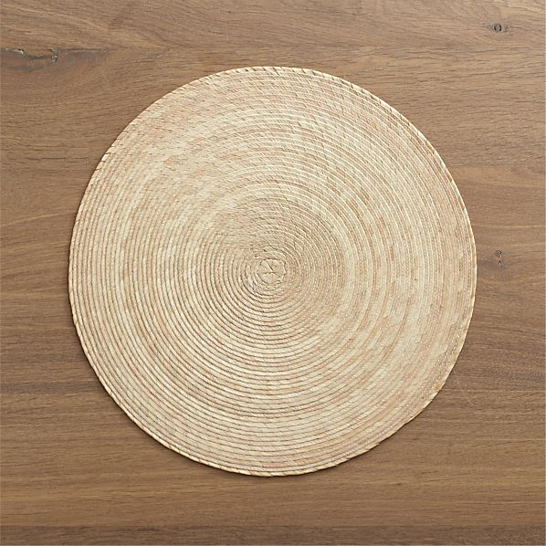 Tropical Palm Natural Placemat