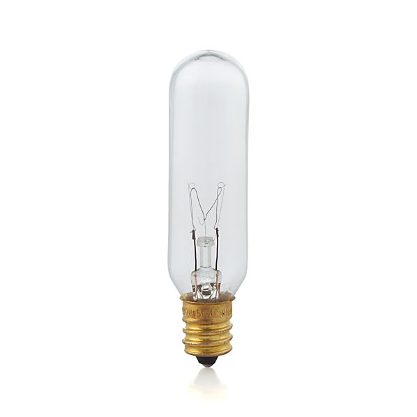 Tubular 15W Candelabra Light Bulb