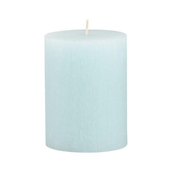 "Tupelo Aquatic 3""x4"" Pillar Candle"