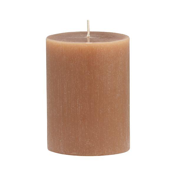 "Tupelo Cassia 3""x4"" Pillar Candle"