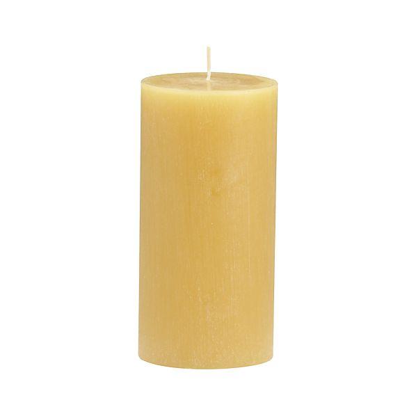 "Tupelo Ceylon 3""x6"" Pillar Candle"
