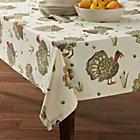 "Turkey 60""x90"" Tablecloth."