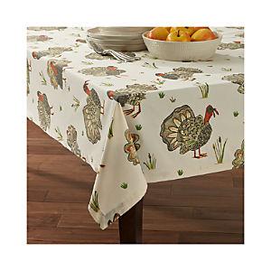 Turkey Tablecloth