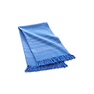 Blue Turkish Guest Towel