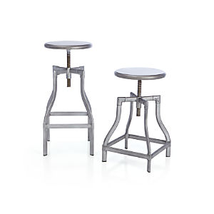 Turner Gunmetal Bar Stools