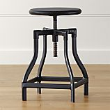 Turner Black Counter Stool