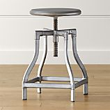 Turner Gunmetal Counter Stool