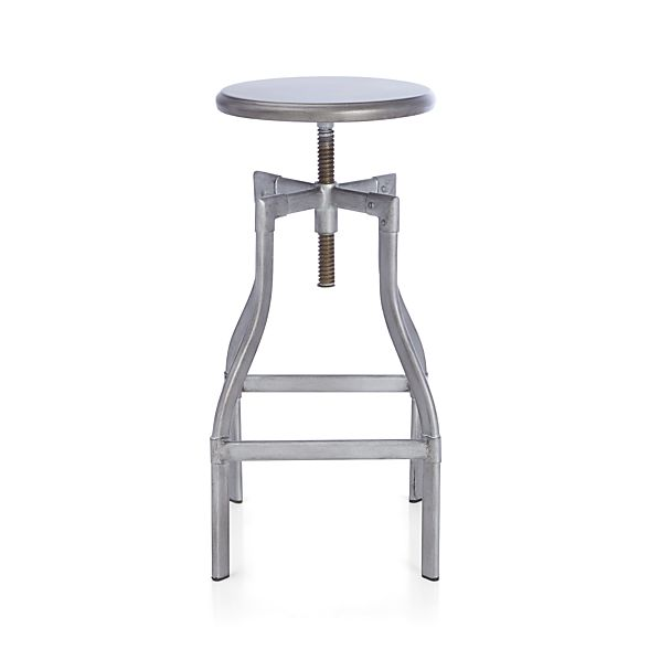 "Turner Gunmetal 24""–30"" Bar Stool"