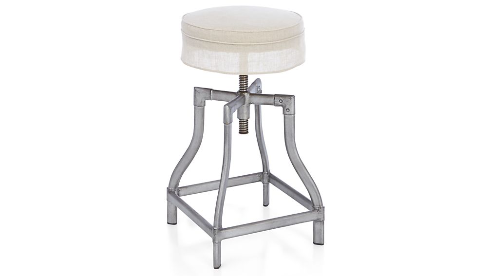 Turner Gunmetal Bar Stool
