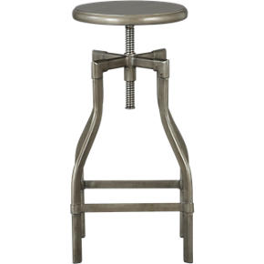 Turner Gunmetal 24-30 Barstool