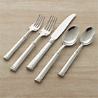 Tuscany 20-Piece Flatware Set: four 5-piece place settings.