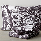 Marimekko Tuuli King Sheet Set. Raisin. Includes one flat sheet, one fitted sheet and two king pillowcases.