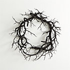 Black Branch Artificial Wreath.