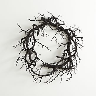 Black Branch Wreath