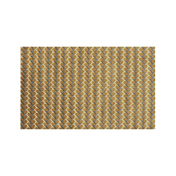 Twine Striped Wool 5'x8' Rug