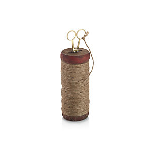 Twine Spool with Scissors
