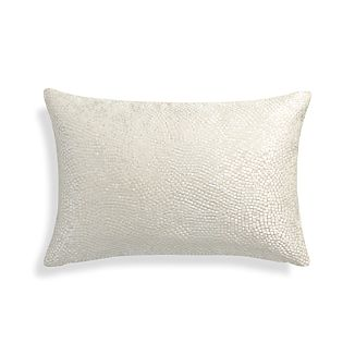 Twinkle Ivory 18x12 Pillow with Feather-Down Insert