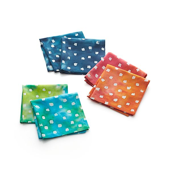 Set of 6 Ula Cocktail Napkins