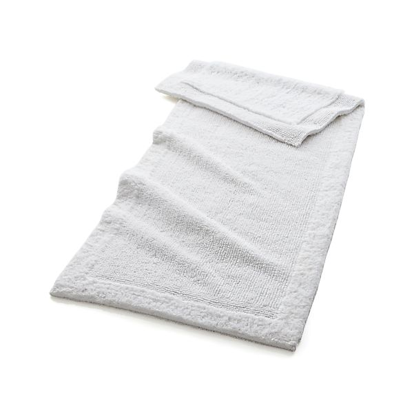 "Ultra Spa White 24""x60"" Bath Rug"