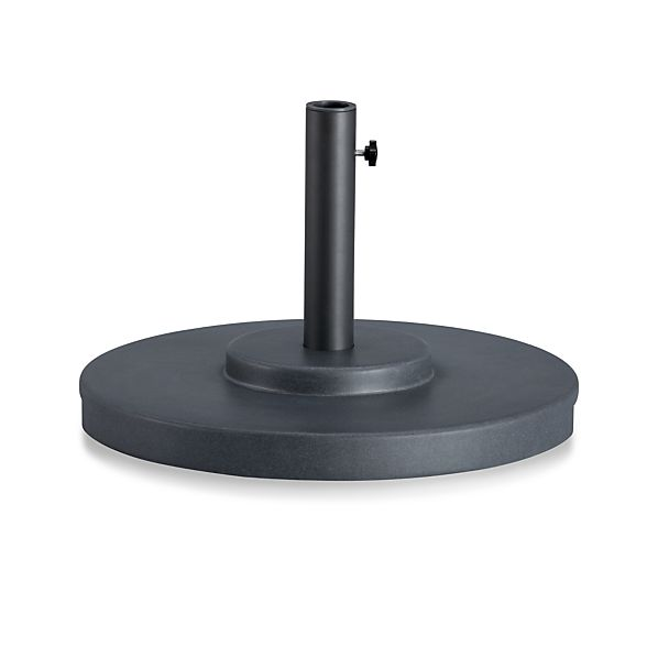 Large Charcoal Outdoor Umbrella Stand