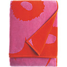 "Pink and Red Bath Towel. 20""Wx59""L"