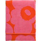 "Pink and Red Beach Towel. 39""x71"""