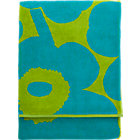 "Turquoise and Lime Beach Towel. 39""x71"""