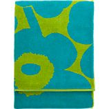 Marimekko Unikko Turquoise and Lime Beach Towel