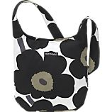 Marimekko Pieni Unikko Clover Black and White Bag