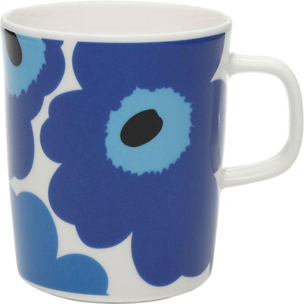 Marimekko Unikko Blue Mug