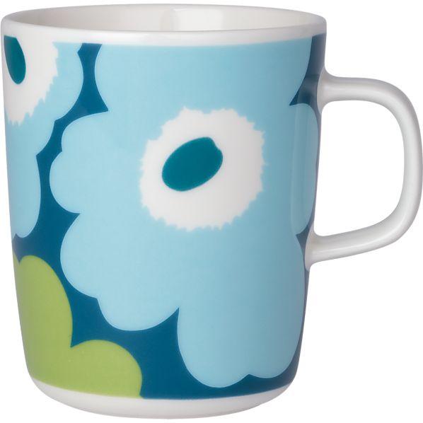 Marimekko Unikko Turquoise Mug