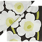 "Set of 20 white napkins. 4.75"" sq. (folded)"